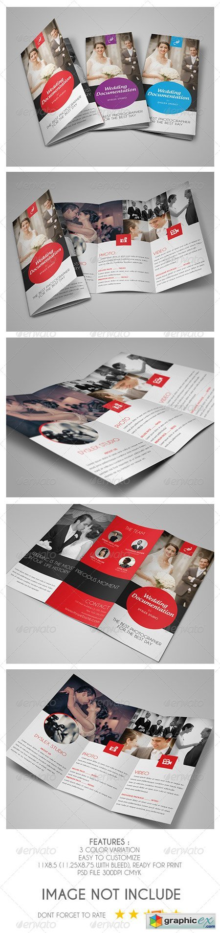 Wedding Documentation Trifold