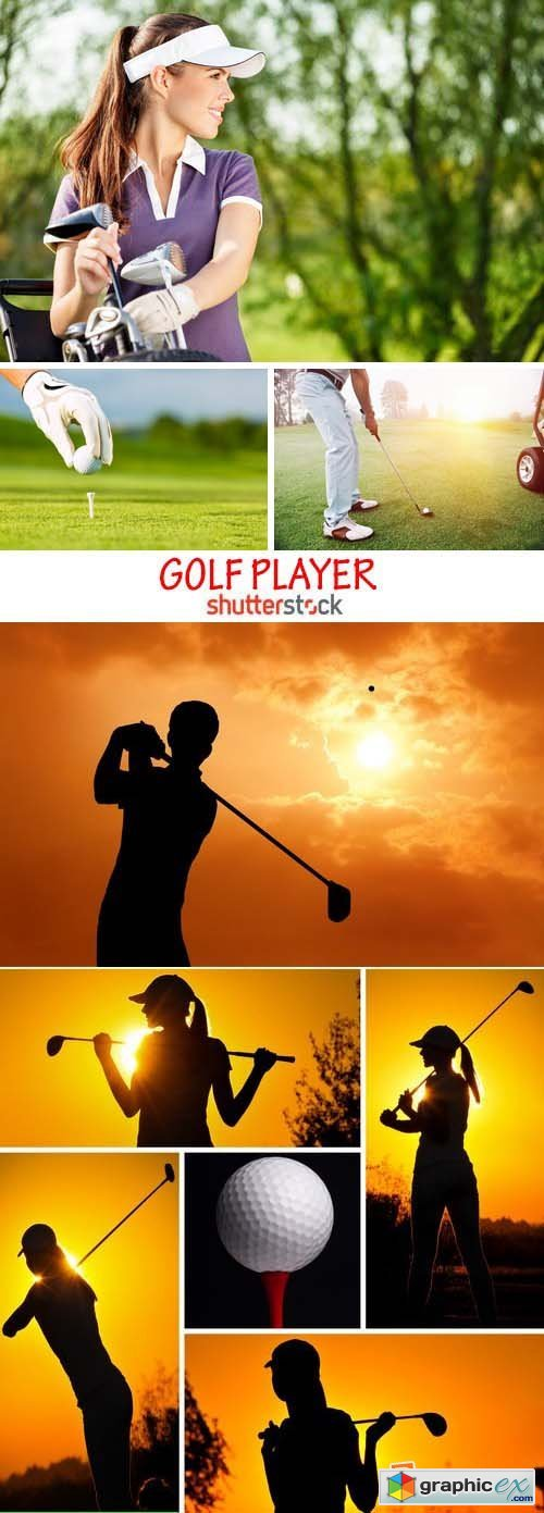 Amazing SS - Golf player, 25xJPG
