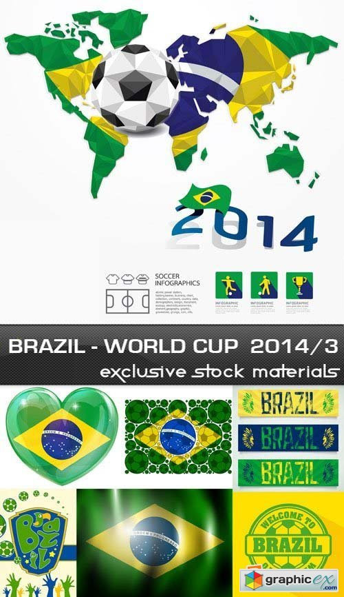 Brazil - FIFA World Cup 2014 vol.3, 25xEPS
