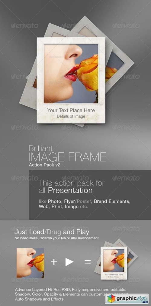 Frame Action v2 Photoshop