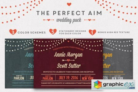 Perfect Aim Wedding Pack 29893