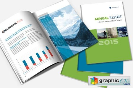 Annual Report & Brochure Template 22716