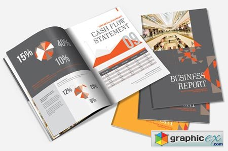 Annual Report Brochure Template 1467