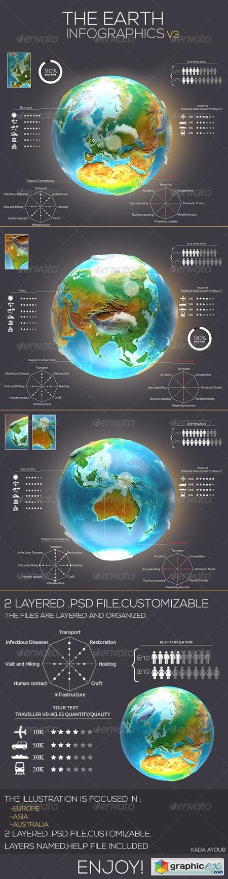 Earth Infographics Travel v3 7377069