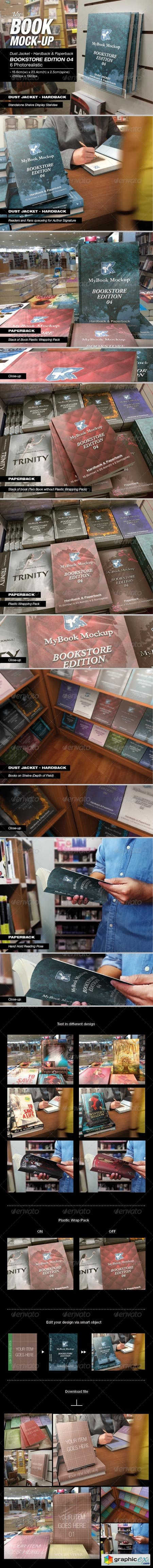 MyBook Mock-up - Bookstore Edition 04 7731739