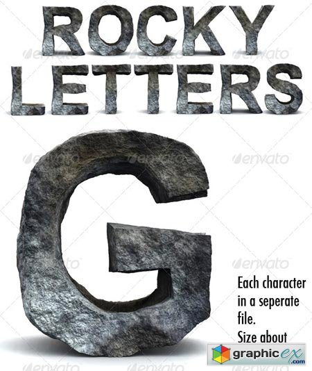 Rocky Letters 165359
