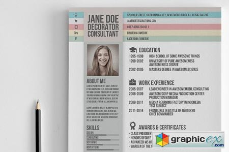 Creative Resume Vol.2 19885
