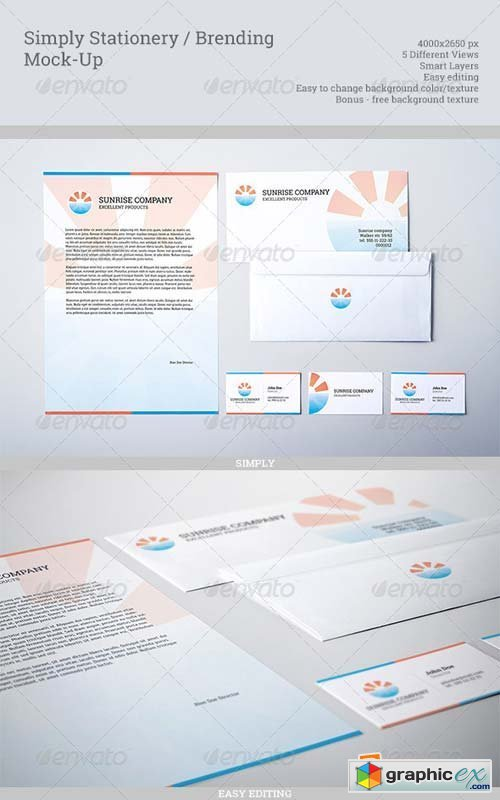 Simply Stationery / Branding Mock-Up