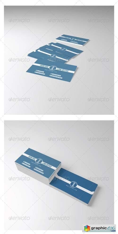 Law Office Business Card