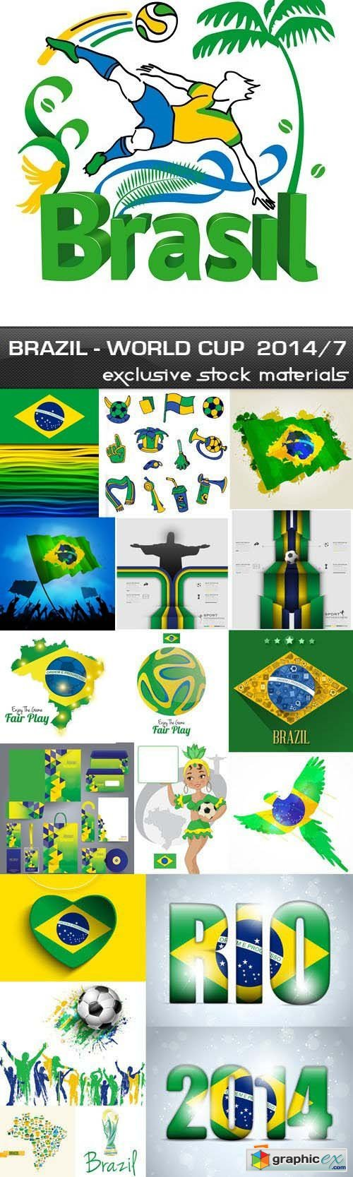 Brazil - FIFA World Cup 2014 vol.7, 25xEPS