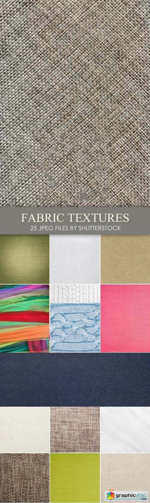 Stock Photo - Fabric Textures, Backgrounds