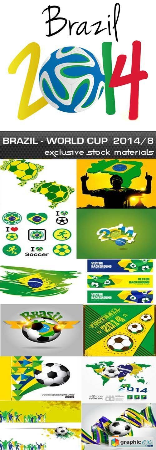 Brazil - FIFA World Cup 2014 vol.8, 25xEPS