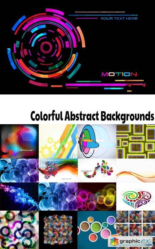 Colorful Abstract Backgrounds Stock Photo Vectors and Illustrations