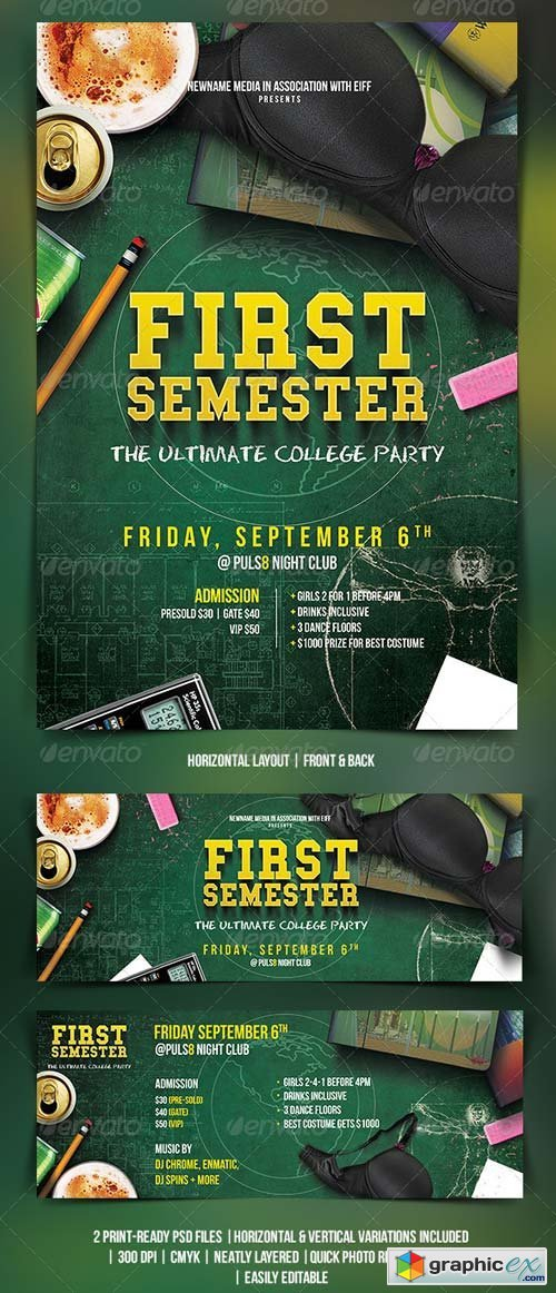 college party flyer free download vector stock image photoshop icon
