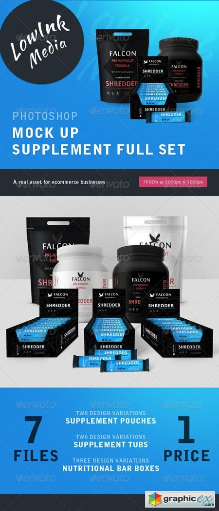 Supplement Set Mock Up - Full Set 7859069