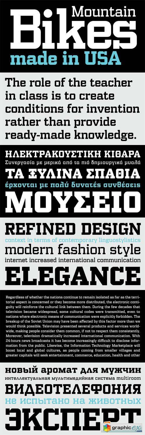 PF Synch Pro Font Family - 4 Fonts for $285