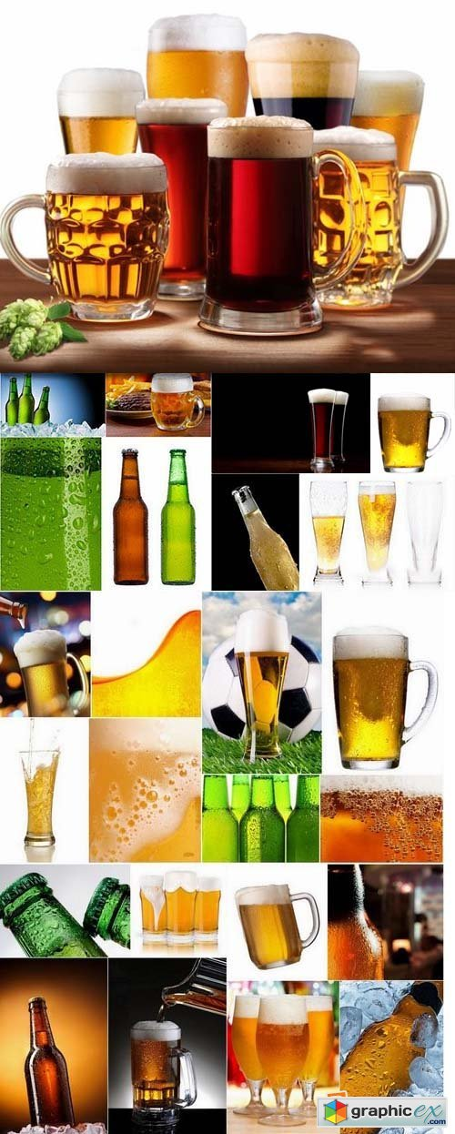 Cold Beer stock Images 25xJPG