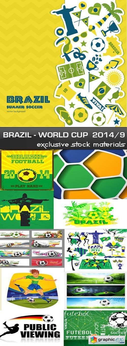 Brazil - FIFA World Cup 2014 vol.9, 25xEPS
