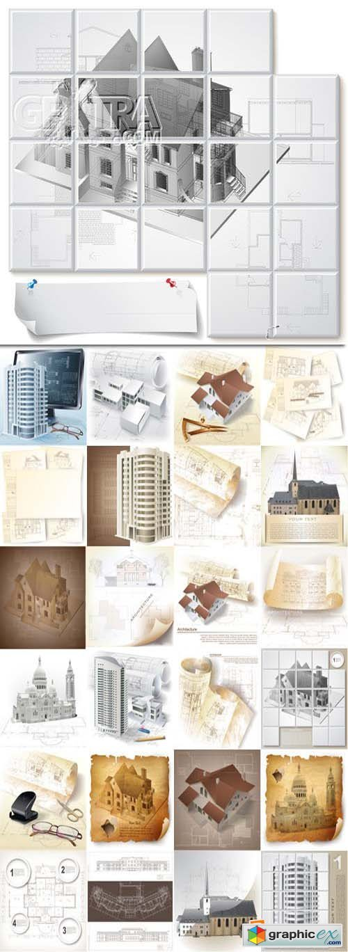 Architectural design elements, 25xEPS
