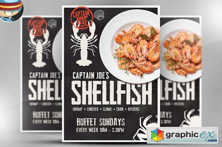 Captain Joe's Shellfish Poster 51870