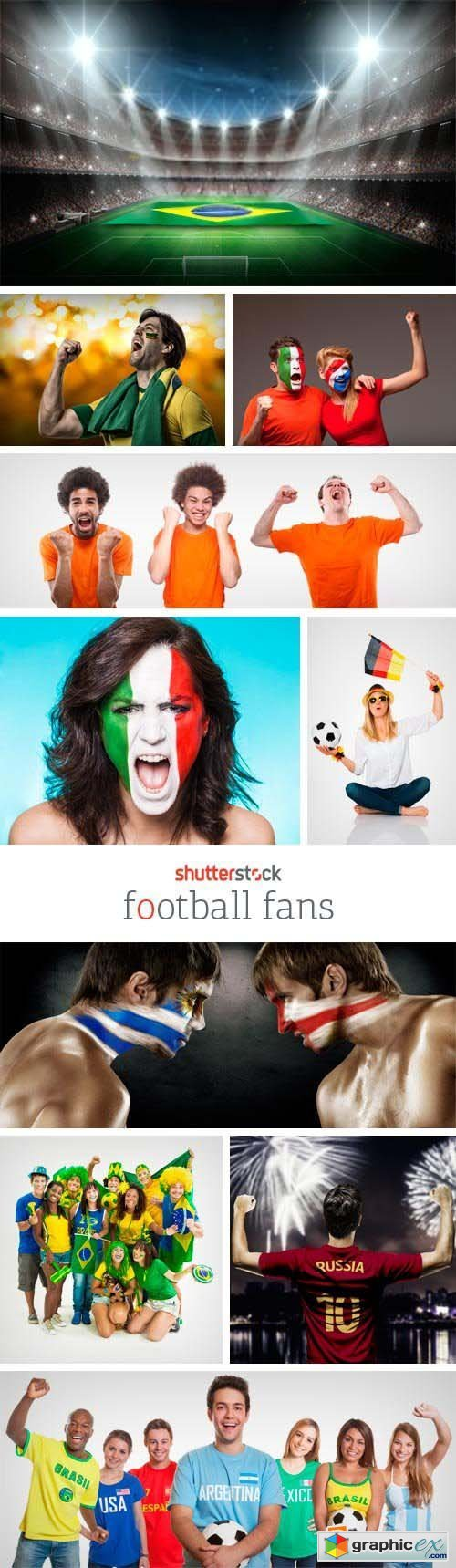 Amazing SS - Football Fans, 25xJPGs