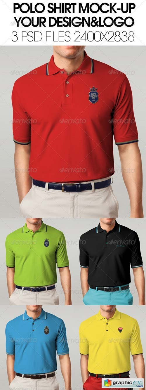 Smukt smil pige polo shirt mock up psd free download for Free polo shirt mockup