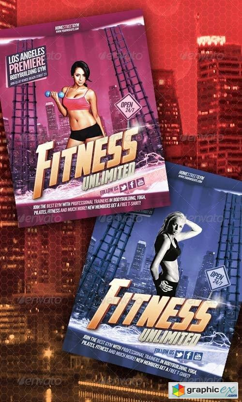 Fitness / Bodybuilding Flyer