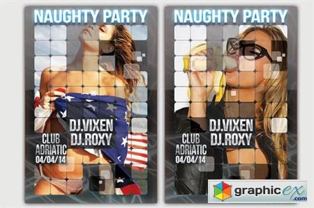 Naughty Party Card 50871