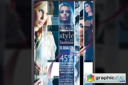 Modern Fashion Flyer 50840