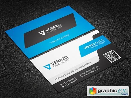 Creative Corporate Business Card 50676