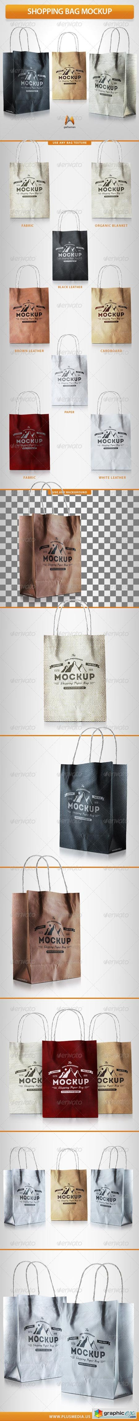 Shopping Bag Mockup 7709318