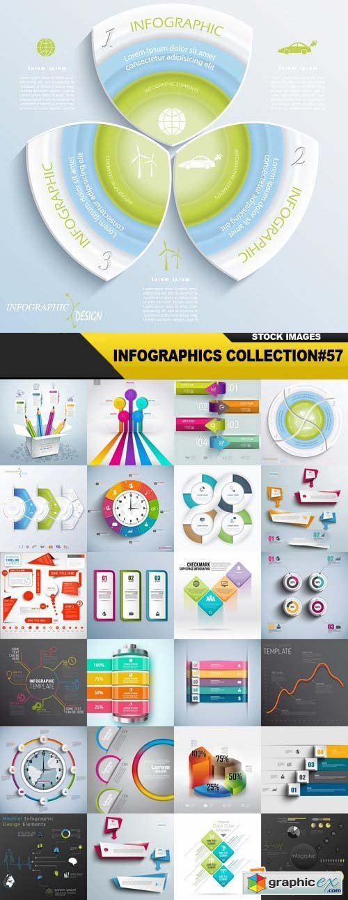 Infographics Collection#57 - 25 Vector