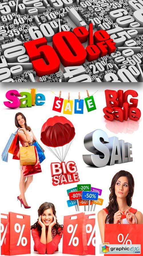 Sale & Discount 23xJPG + 2xEPS