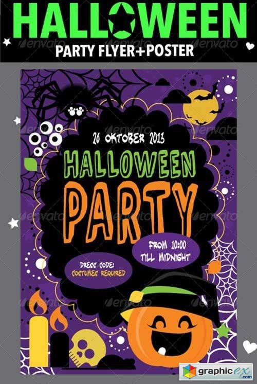 Halloween Party Flyer & Poster