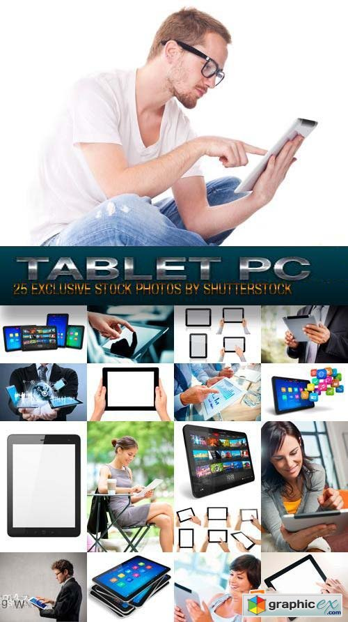 Tablet PC, 25xJPG