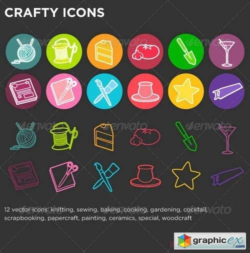Crafty Icons