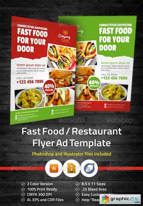 Restaurant Flyer Templates Free Download Romeondinez