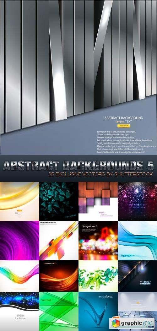 Abstract Backgrounds 5, 26xEPS