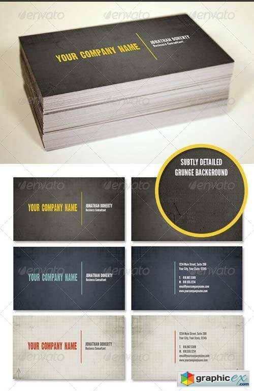 Rubicon Business Card Template Set