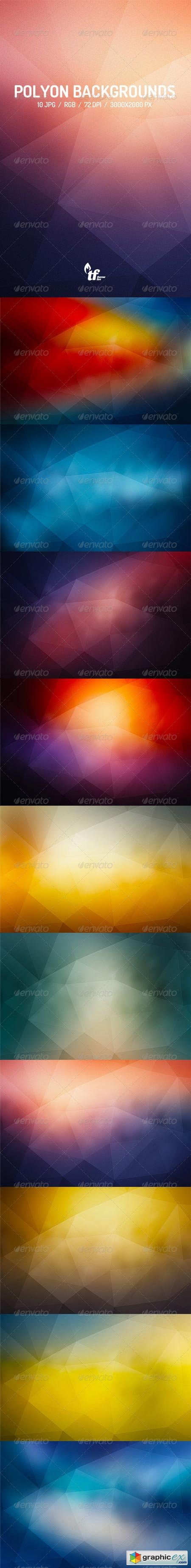 Abstract Poly Backgrounds 7821665