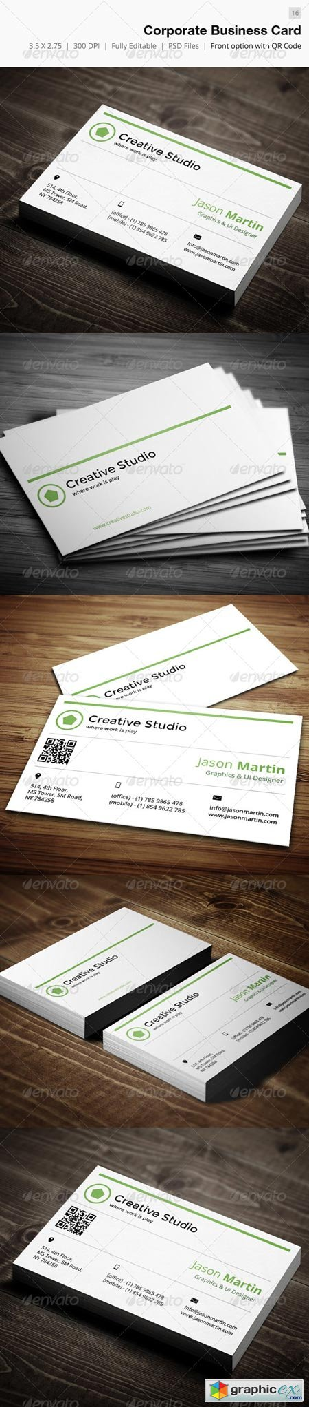 Corporate Business Card - 16 4600204