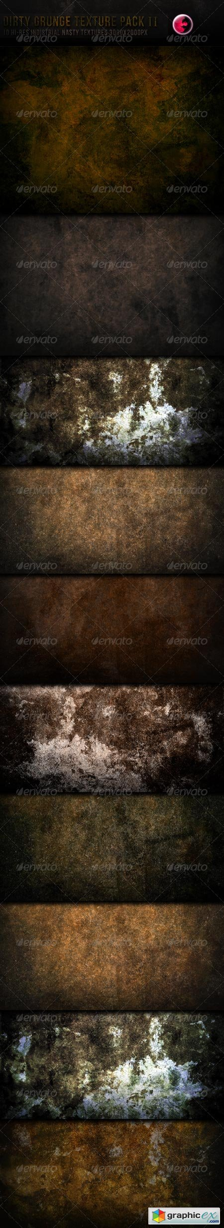 10 Hi-Res Dirty grunge texture pack-ii 240193