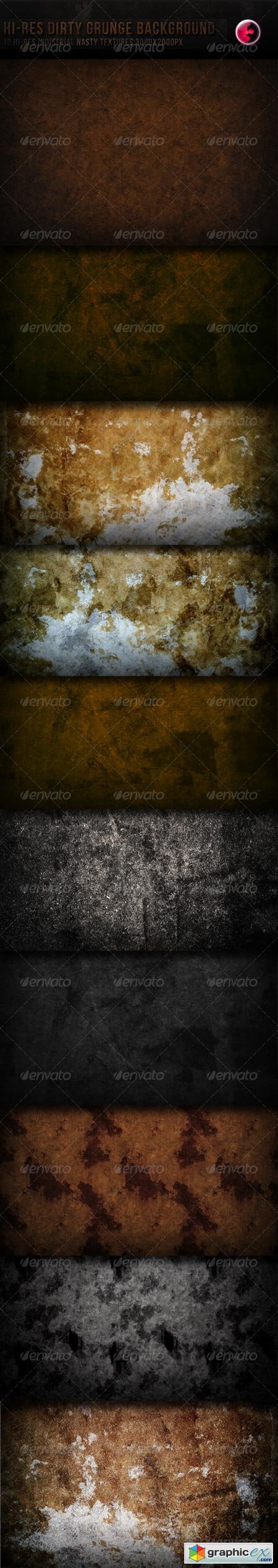 10 Hi-res Dirty Grunge TeXture Background 163827
