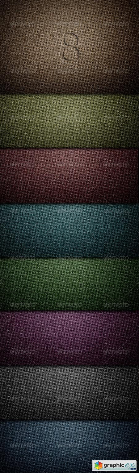 8 Hi-res Textured Backgrounds 155811