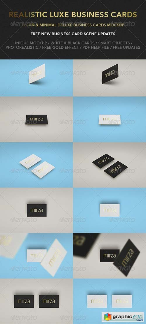 Realistic luxe business card mock up free download vector stock realistic luxe business card mock up photoshop psd 1920x1200 px 358 mb reheart Gallery