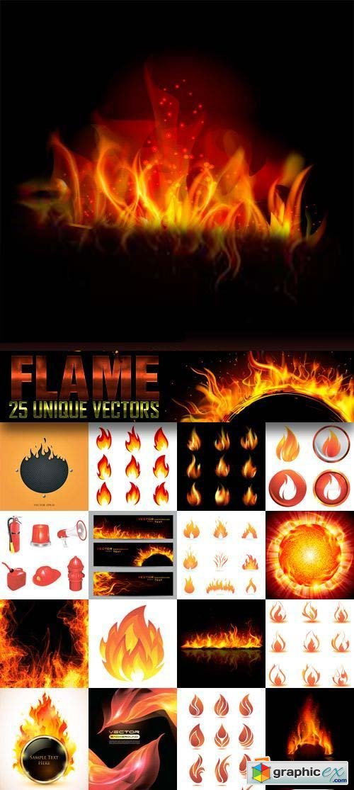 Fire & Flames 25xEPS