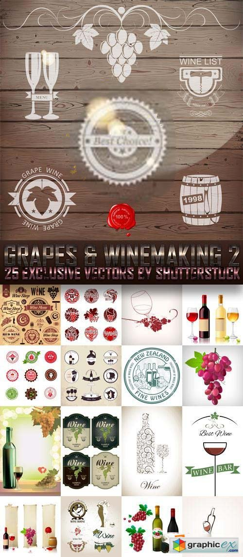 Grapes & Winemaking 2, 25xEPS