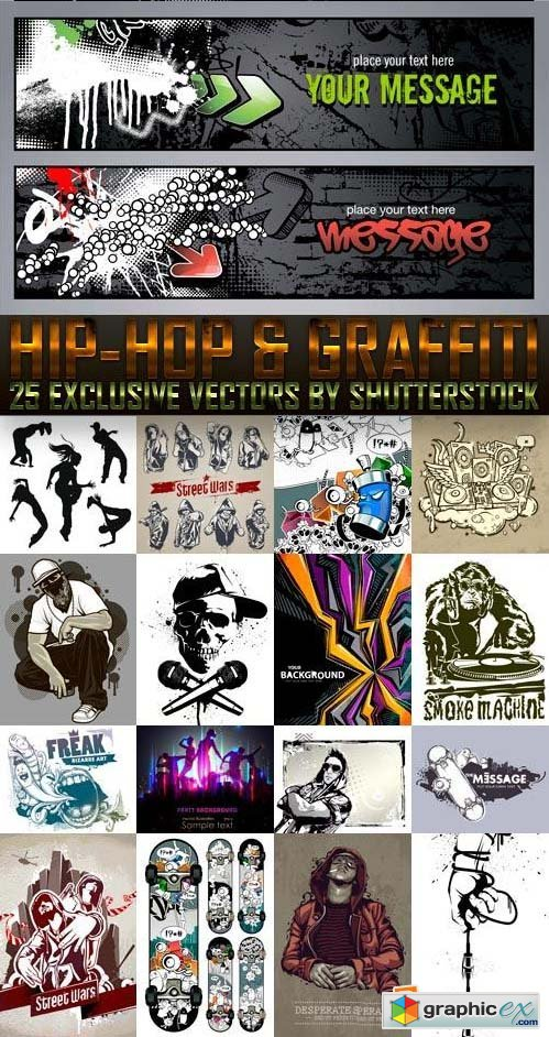 Hip-Hop & Graffiti 25xEPS