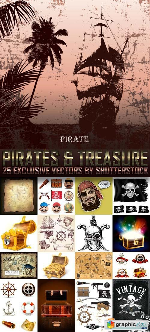 Pirates & Treasure 25xEPS