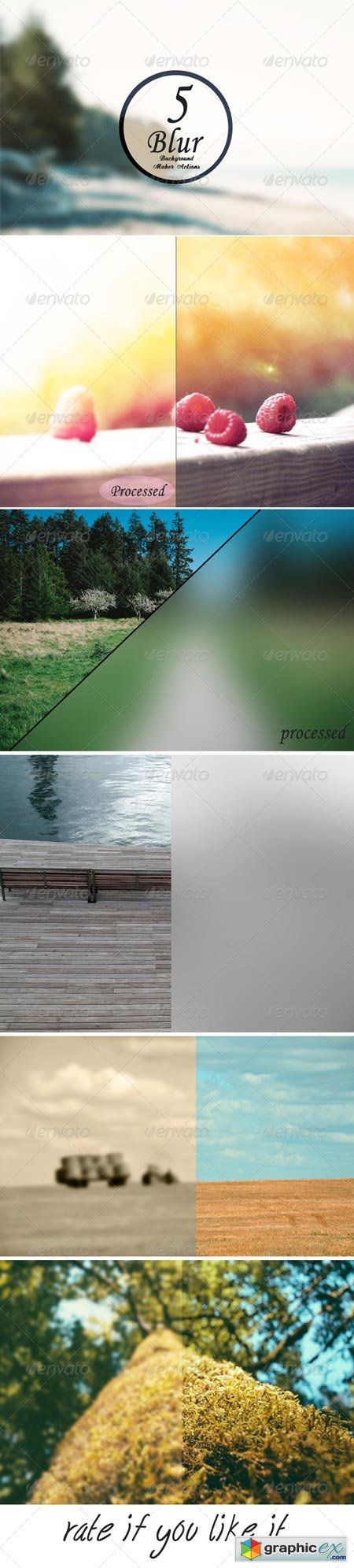 Blur Background Action Set V8 6157875